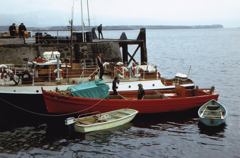 Iona and Lochnell at Tobermory