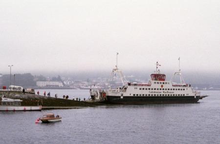 Loch Dunvegan sitting at Kyleakin