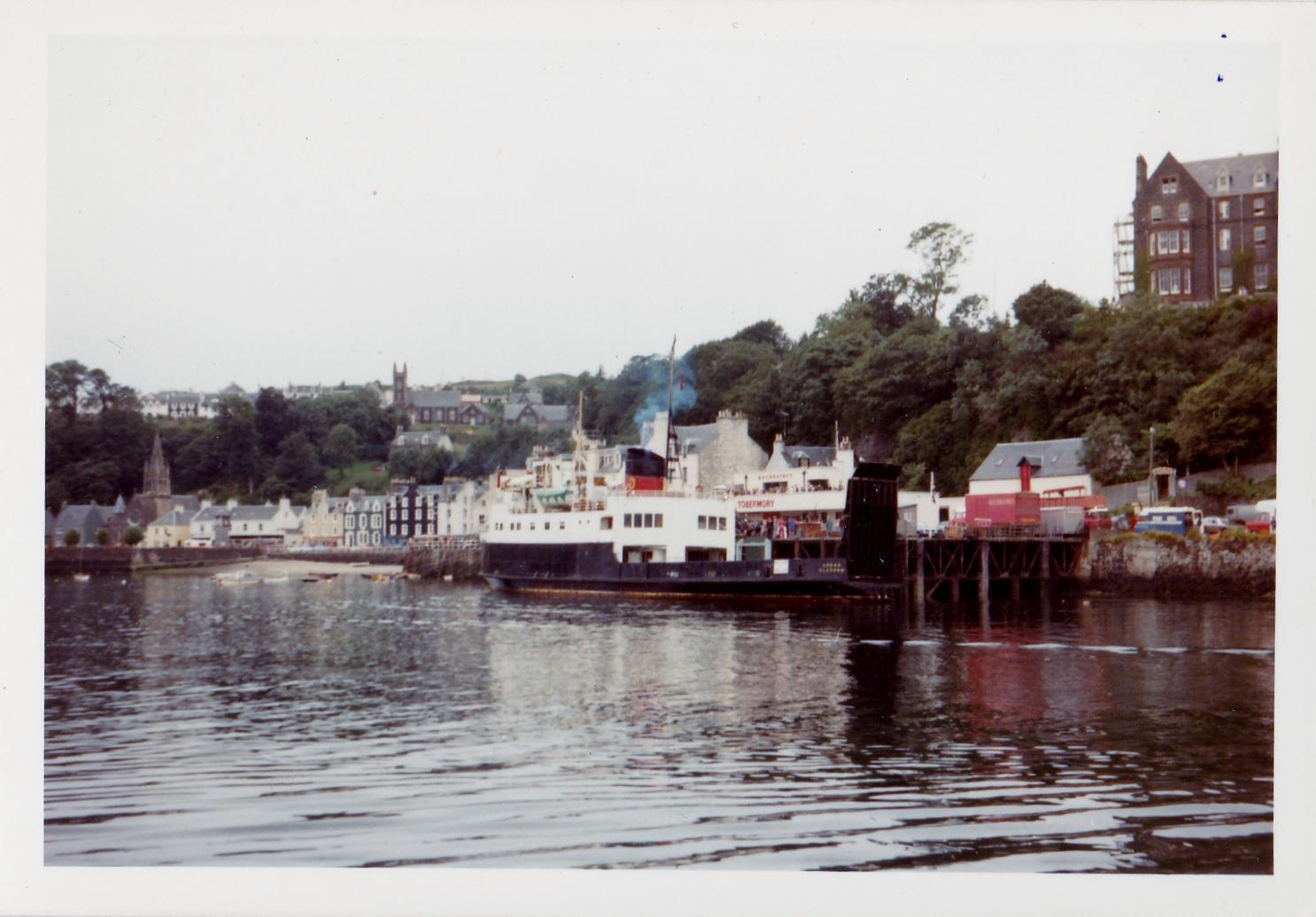Arran at Tobermory