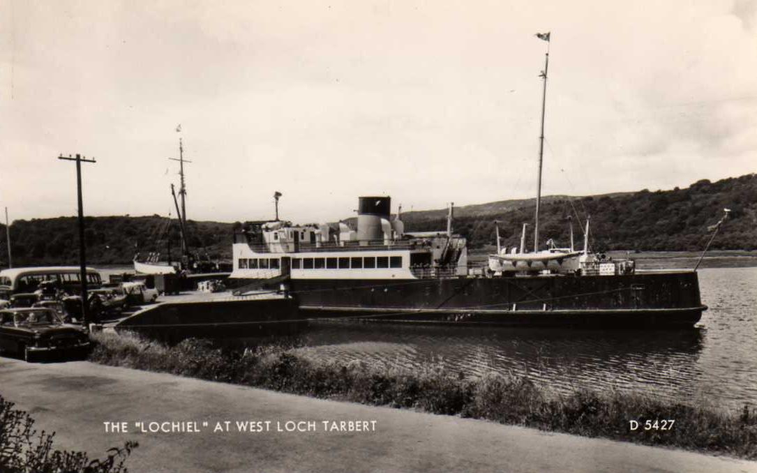 Lochiel at West Loch Tarbert