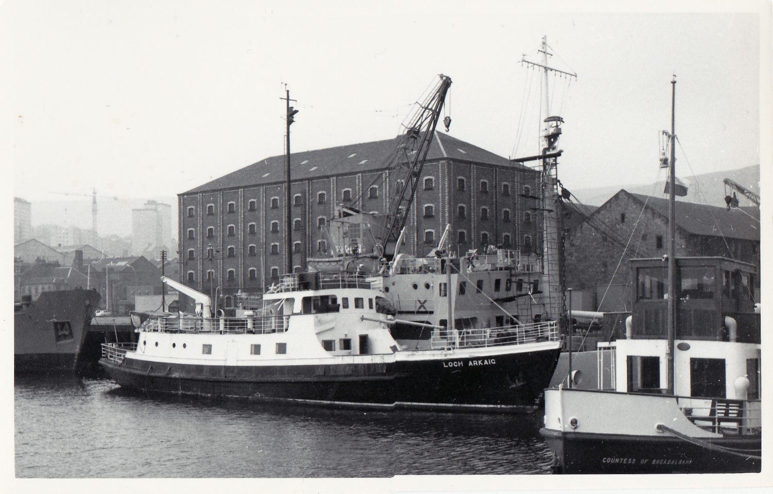 In the East India Harbour with Loch Arkaig