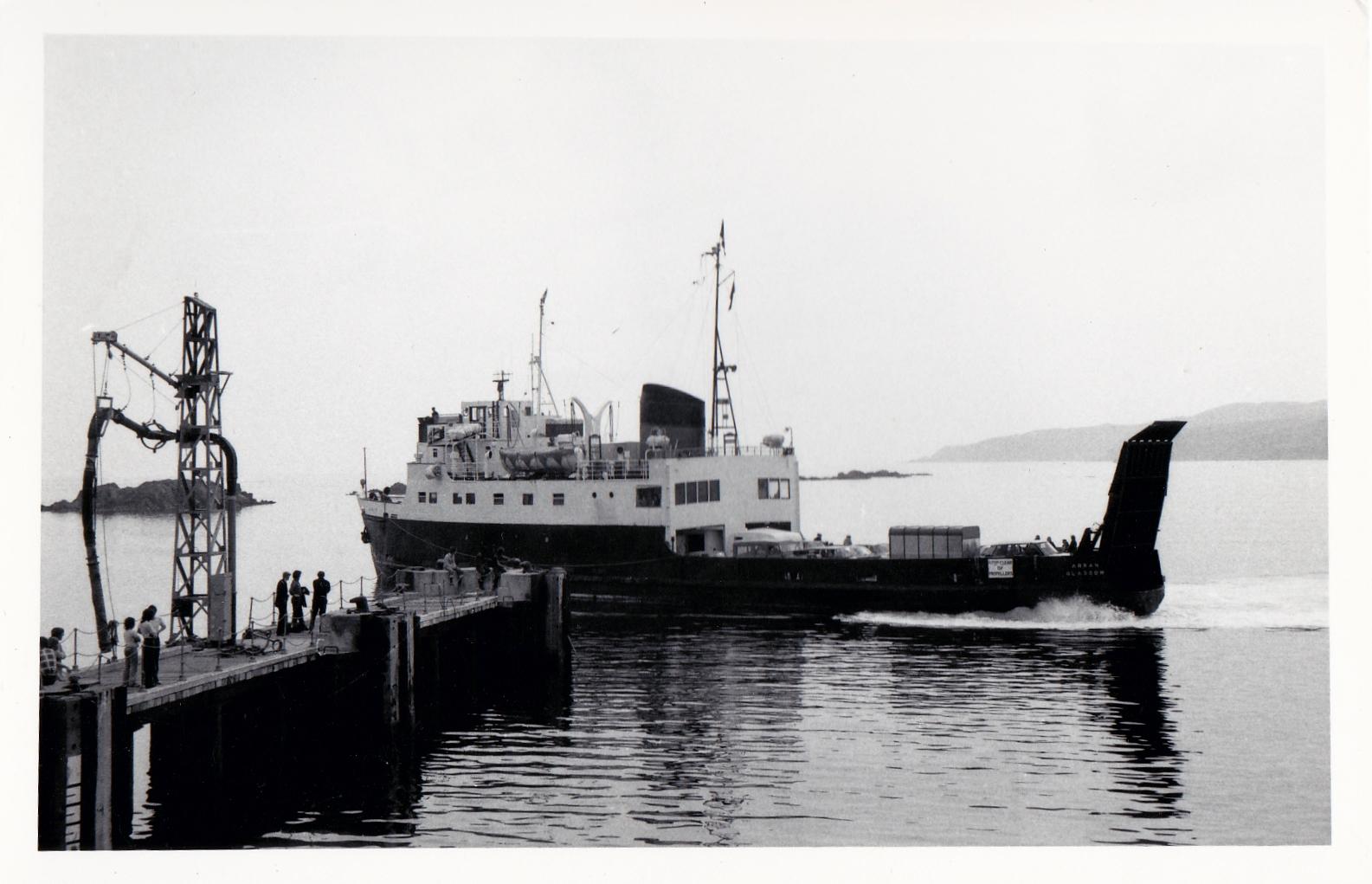 Arran arriving at Port Ellen