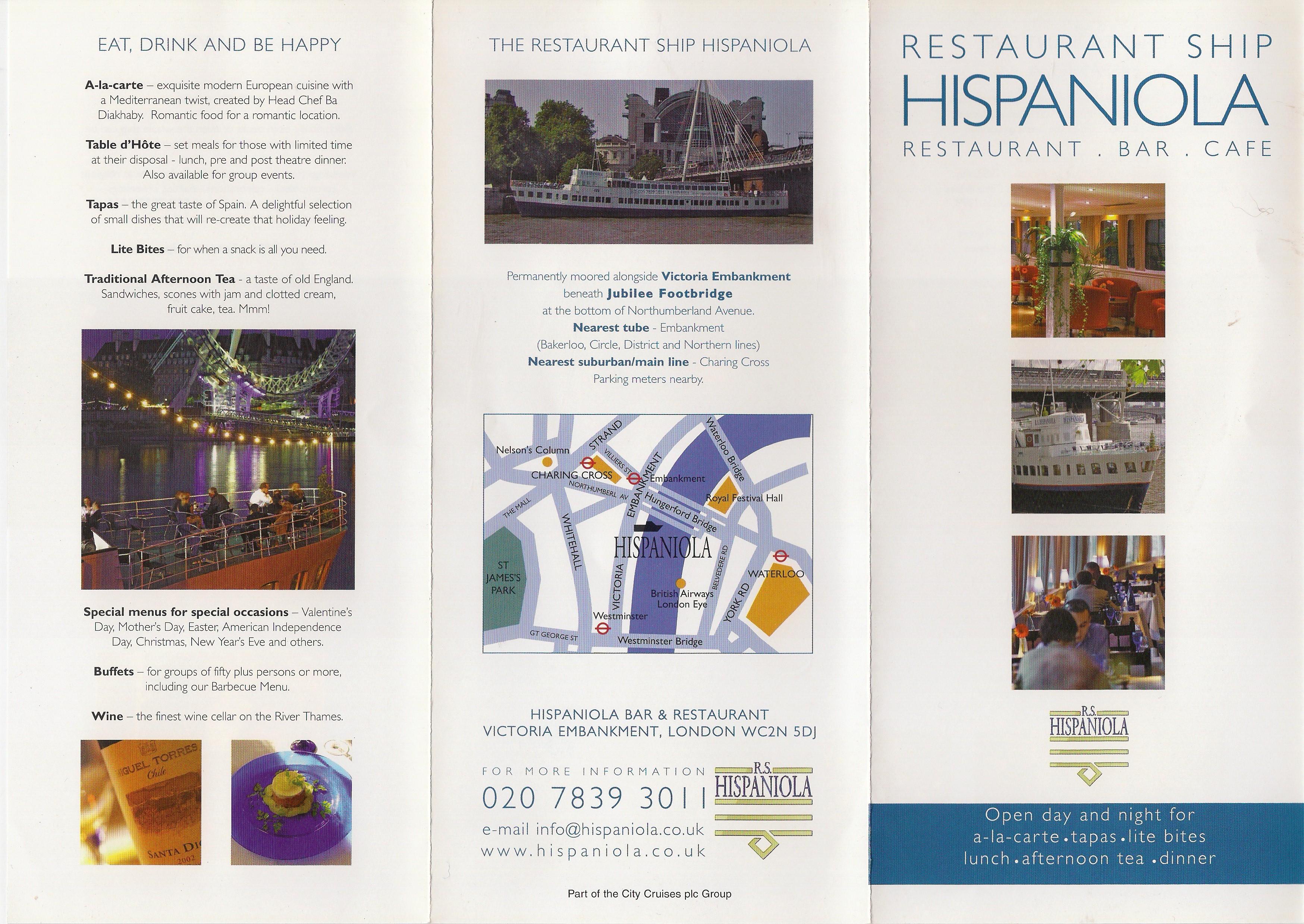Hispaniola Leaflet