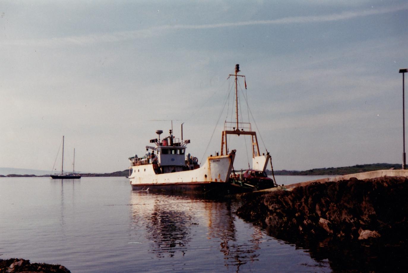 Bruernish at Gigha slipway (Jim Aikman Smith)