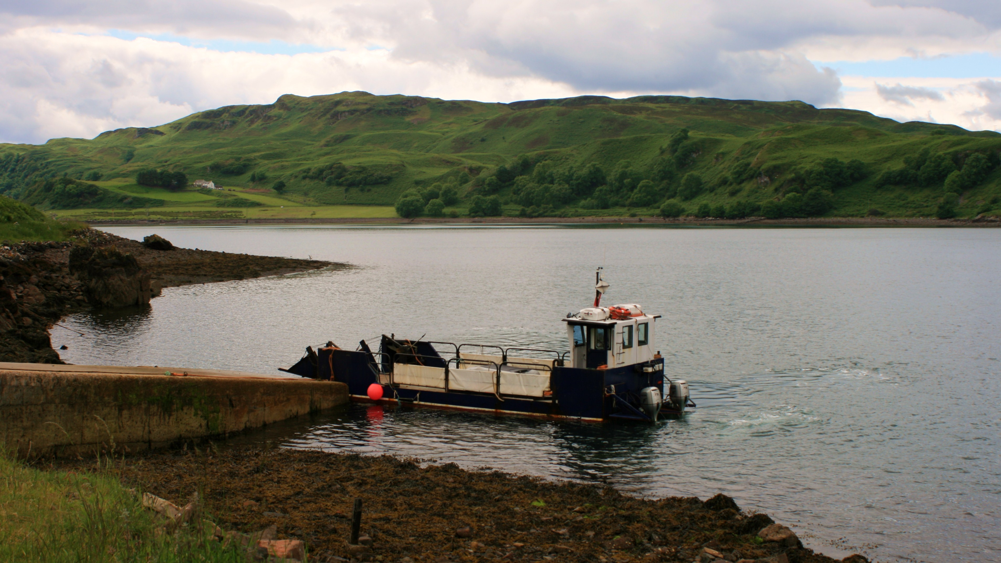 Gylen Lady at Gallanach (Ships of CalMac)
