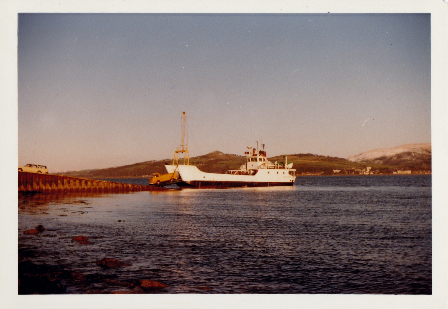 Coll at Cumbrae Slip (Jim Aikman Smith)