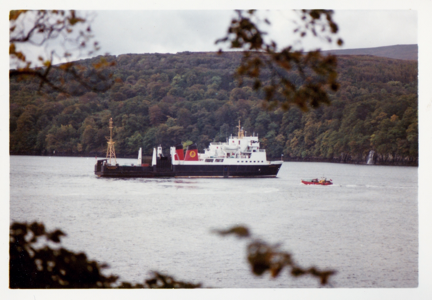Claymore and Applecross at Tobermory