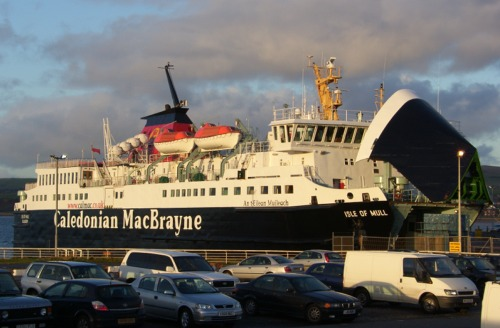 Unloading at Ardrossan once again