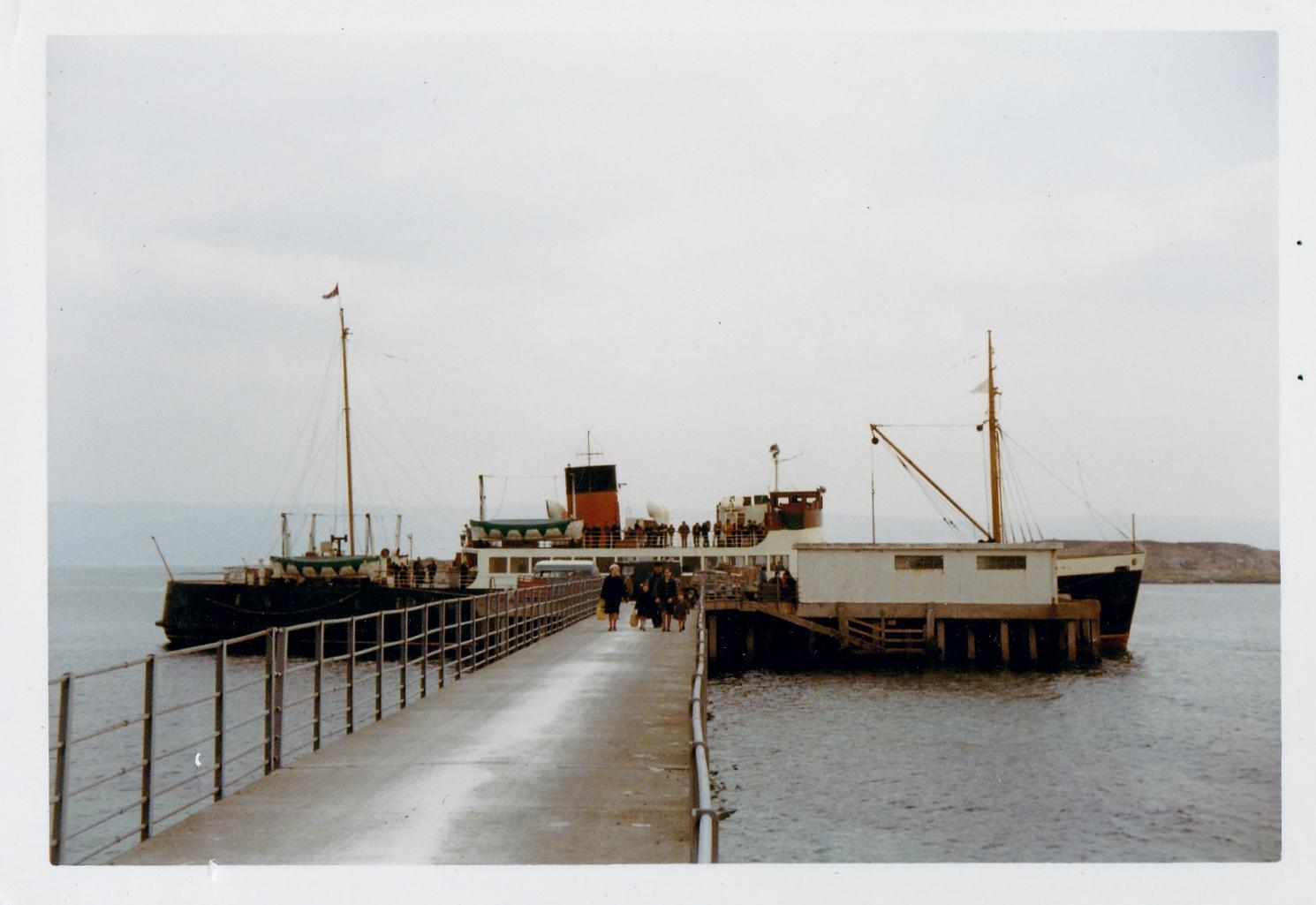 Lochiel at Gigha South Pier