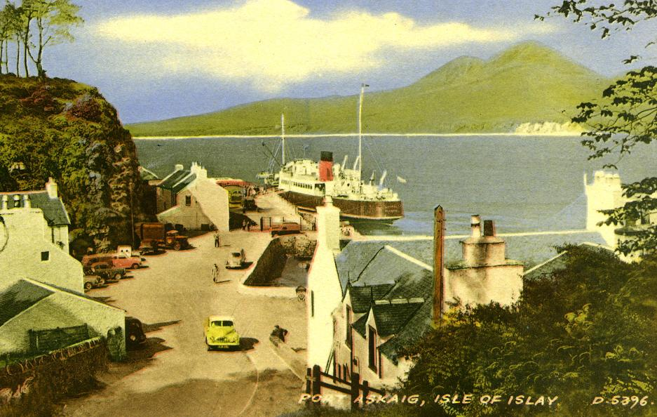 Lochiel at Port Askaig