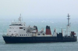 In the Dover Straits