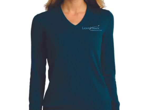 Port Authority® Ladies V-Neck Sweater