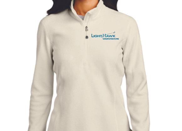 Eddie Bauer® Ladies 1/2-Zip Microfleece Jacket