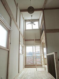 開放感のある天井