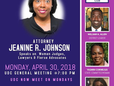 Guest Speaker Jeanine R. Johnson