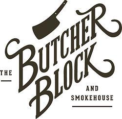 The Butcher Block and Smokehouse Logo