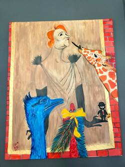 Yvette Guibert - Eve, Michelle et Joséphine - Lautrec par Claire