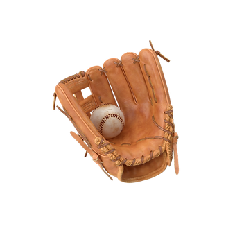 Baseball Glove and Baseball.E16.shadowle