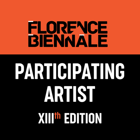 Selected for the Florence Biennale!