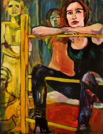 La Peintre in her Art Studio