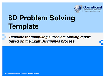 PPT: 8D Report Project Template