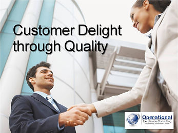 PPT: Customer Delight through Quality Training Presentation