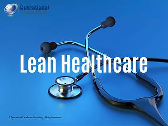 PPT: Lean Healthcare Training Presentation