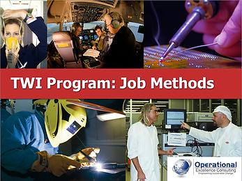 PPT: TWI Job Methods (JM) Training Presentation