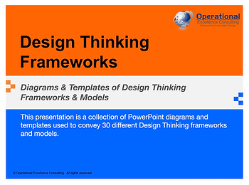PPT: Design Thinking Frameworks & Models