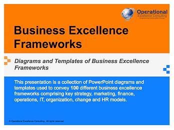 PPT: Business Excellence Frameworks & Models