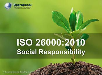 PPT: ISO 26000 (Social Responsibility) Awareness Training Presentation