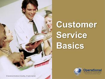 PPT: Customer Service Basics Training Presentation