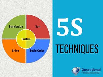 PPT: 5S Technniques Training Presentation