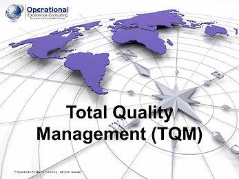 PPT: Total Quality Management (TQM) Training Presentation