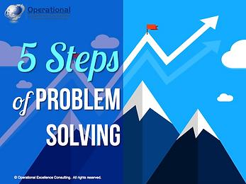 PPT: 5 Steps of Problem Solving