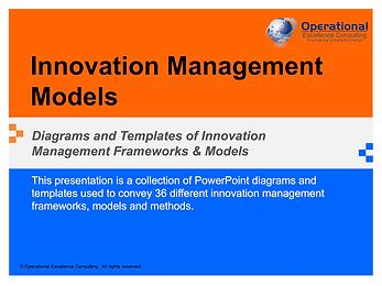 PPT: Innovation Management Frameworks & Models