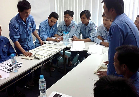 TWI training in Vietnam by Operational Excellence Consulting