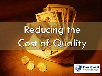 PPT: Cost of Quality Training Presentation