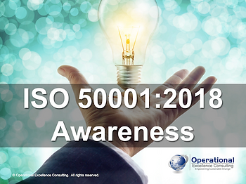 PPT: ISO 50001 (EnMS) Awareness Training Presentation