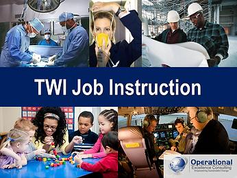 PPT: TWI Job Instruction (JI) Training Presentation
