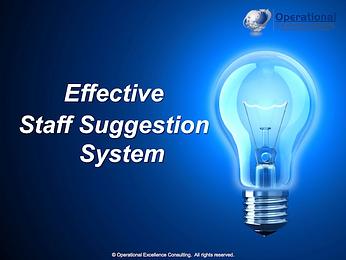 PPT: Employee Suggestion Scheme Training Presentation