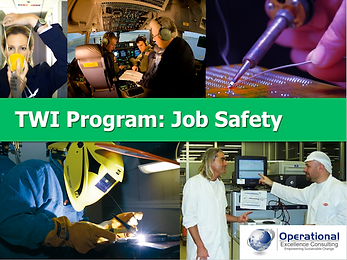 PPT: TWI Job Safety (JS) Training Presentation
