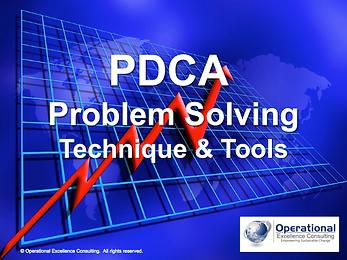 PPT: PDCA Problem Solving Training Presentation