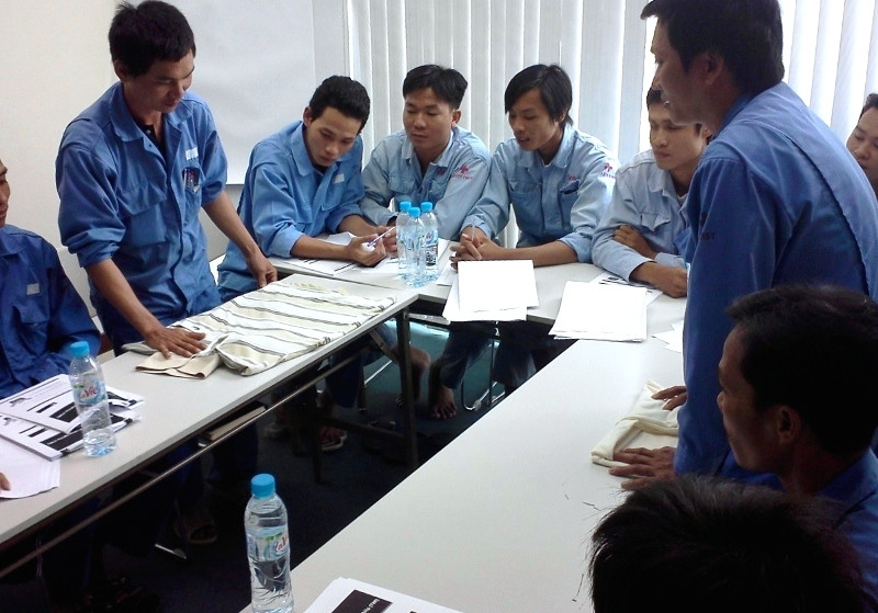 TWI training in Vietnam