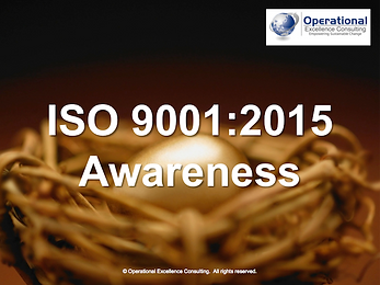 PPT: ISO 9001 (QMS) Awareness Training Presentation