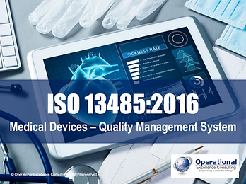 PPT: ISO 13485 (Medical Devices - QMS) Awareness Training Presentation