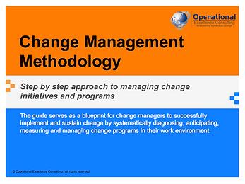 PPT: Change Management Methodology