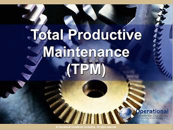 PPT: Total Productive Maintenance (TPM) Training Presentation