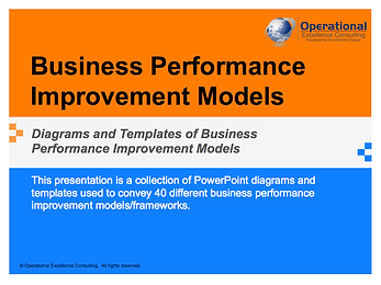 PPT: Business Performance Improvement Frameworks & Models