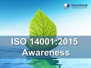 PPT: ISO 14001 (EMS) Awareness Training Presentation